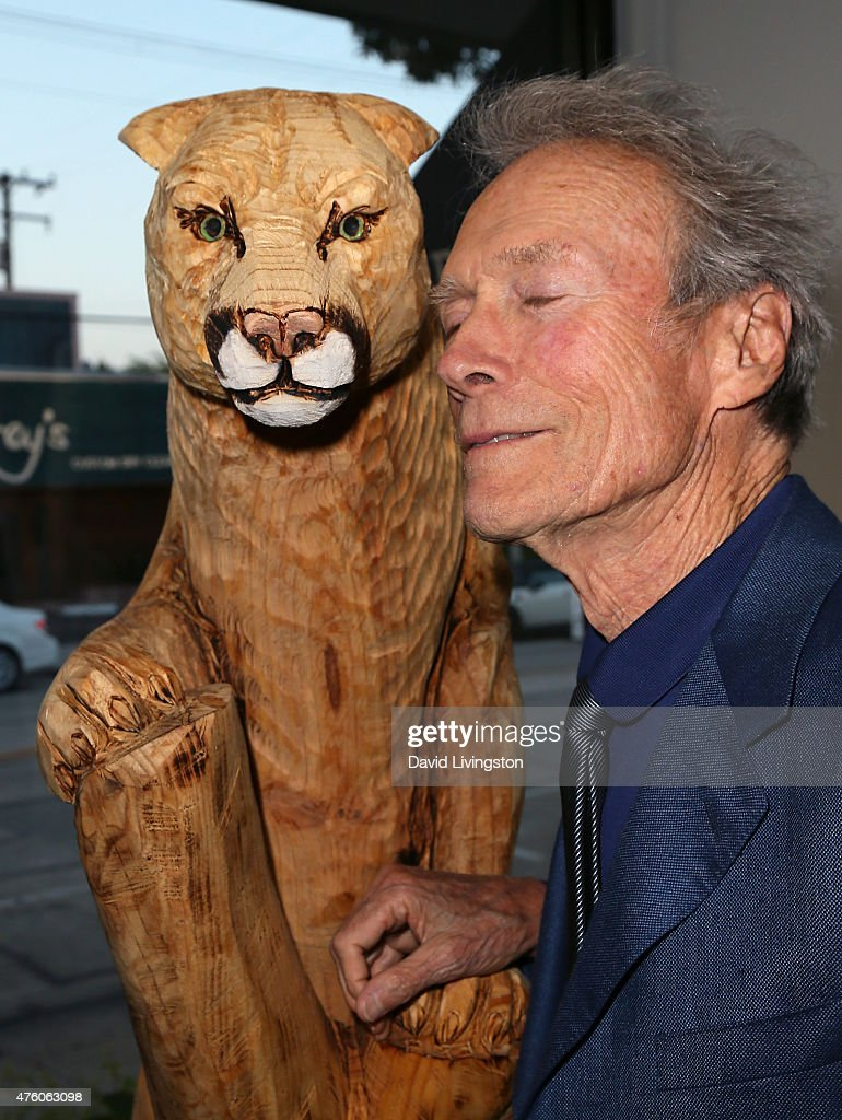 Actor/director Clint Eastwood attends the Art for Animals fundraiser art event hosted by Alison Eastwood at De Re Gallery on June 5, 2015 in West Hollywood, California.