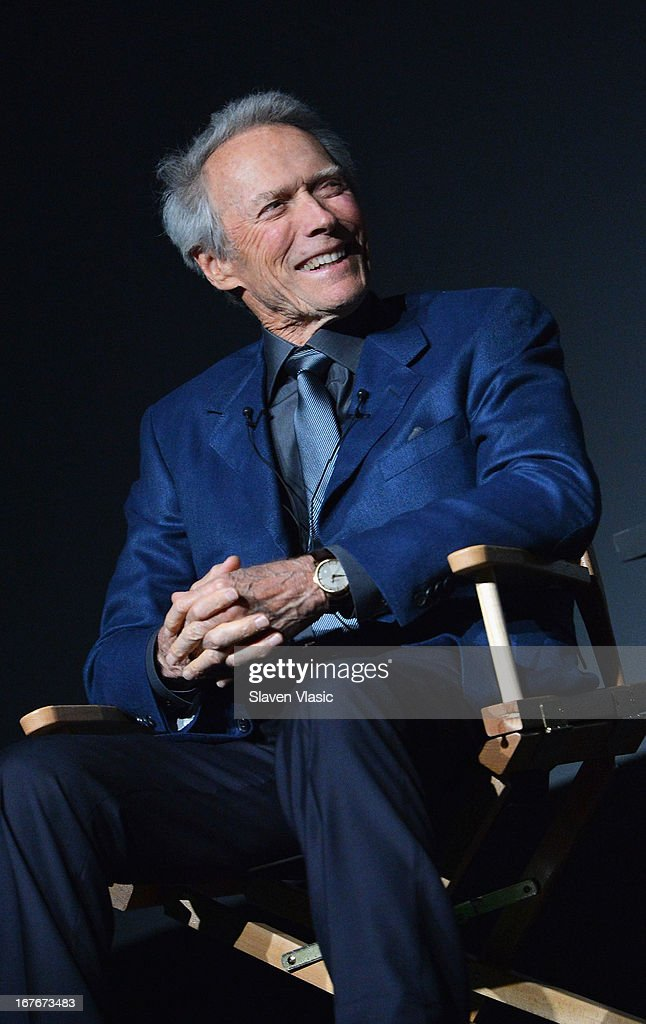 Actor/director <a gi-track='captionPersonalityLinkClicked' href=/galleries/search?phrase=Clint+Eastwood&family=editorial&specificpeople=201795 ng-click='$event.stopPropagation()'>Clint Eastwood</a> attends the 'Tribeca Talks - Directors Series: <a gi-track='captionPersonalityLinkClicked' href=/galleries/search?phrase=Clint+Eastwood&family=editorial&specificpeople=201795 ng-click='$event.stopPropagation()'>Clint Eastwood</a> with Darren Aronofsky' during the 2013 Tribeca Film Festival on April 27, 2013 in New York City.