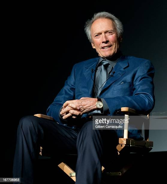 Actor/director Clint Eastwood attends the Tribeca Talks Director's Series during the 2013 Tribeca Film Festival at BMCC Tribeca PAC on April 27 2013...