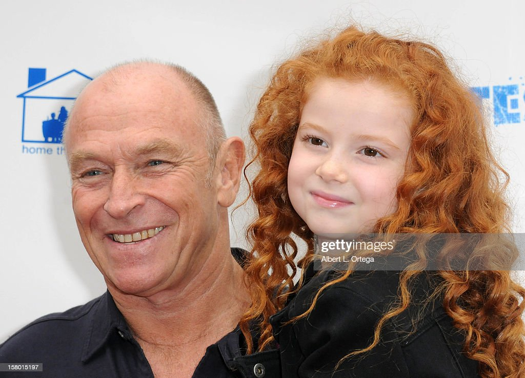 Actor/director Corbin Bernsen and actress Francesca Capaldi arrive for the Screening Of '3 Day Test' - Arrivals held at Downtown Independent Theater on December 8, 2012 in Los Angeles, California.