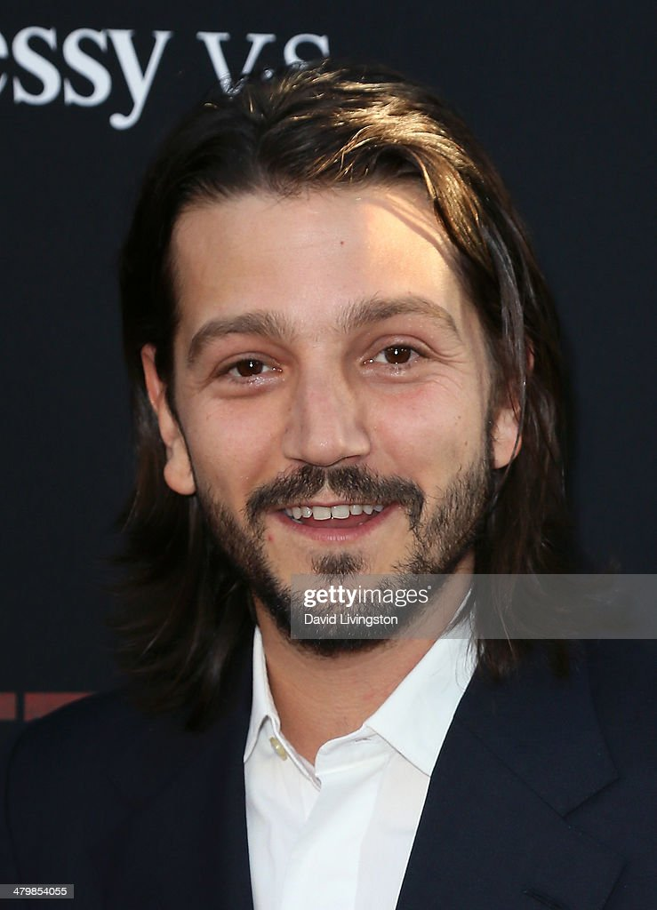 Actor/director Diego Luna attends the premiere of Pantelion Films and Participant Media's 'Cesar Chavez' at TCL Chinese Theatre on March 20, 2014 in Hollywood, California.
