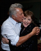 Actor/director Dustin Hoffman and actress Pauline Collins attend The Weinstein Company film premiere party hosted by Grey Goose for 'Quartet' at Soho...
