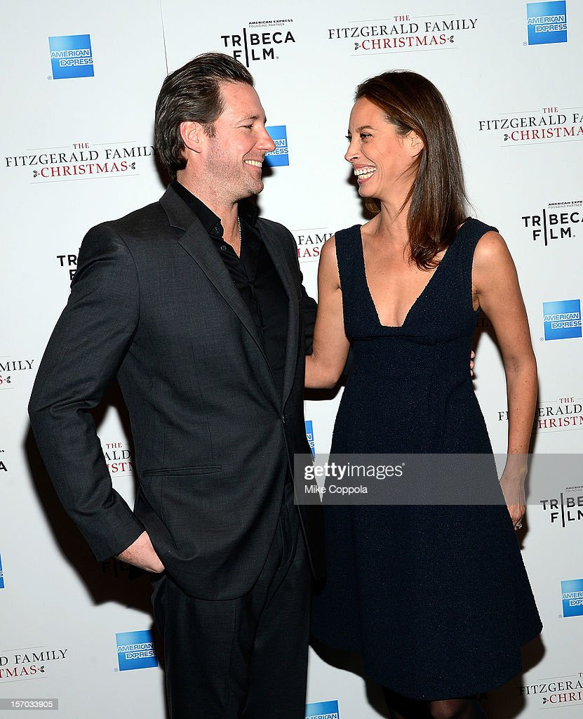Actor/director Edward Burns (L) and model Christy Turlington attend Tribeca Film's Special New York Screening Of 'The Fitzgerald Family Christmas' at Tribeca Grand Hotel on November 27, 2012 in New York City.