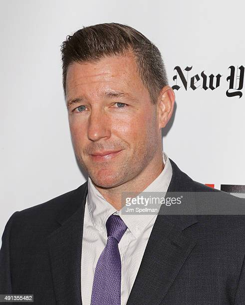 Actor/director Edward Burns attends the 53rd New York Film Festival premiere of 'Bridge Of Spies' at Alice Tully Hall Lincoln Center on October 4...