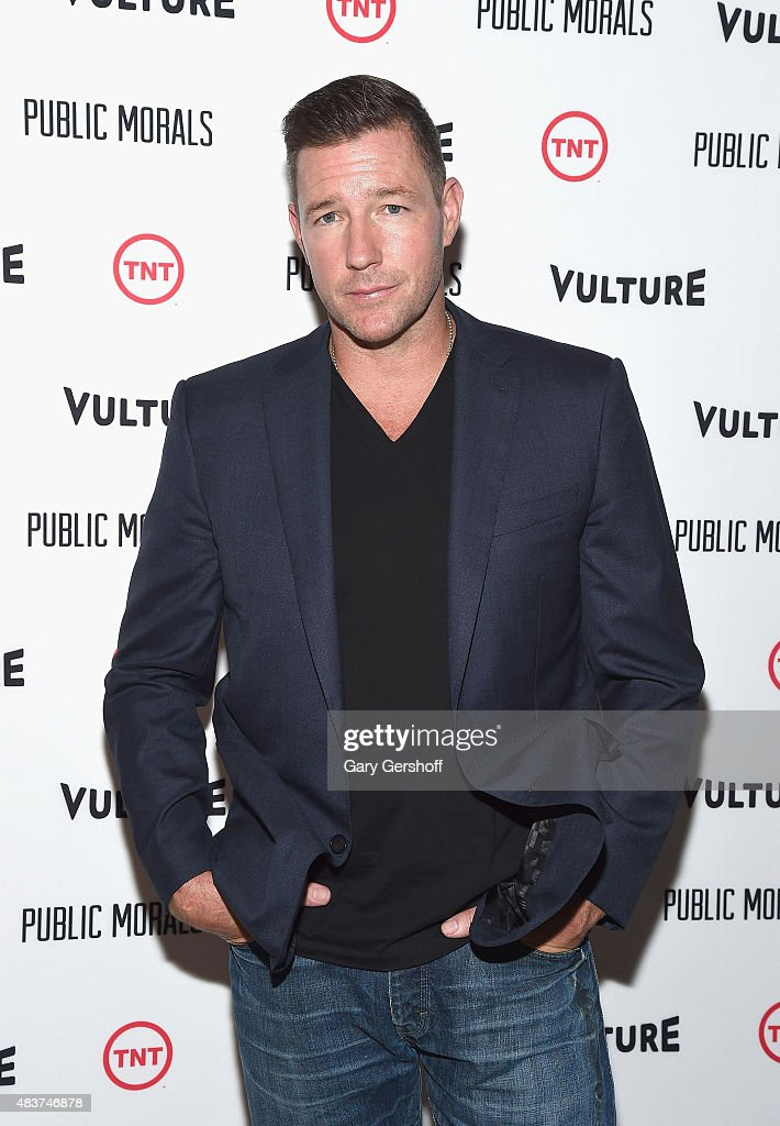 Actor/director Edward Burns attends the 'Public Morals' New York Screening at Tribeca Grand Screening Room on August 12, 2015 in New York City.
