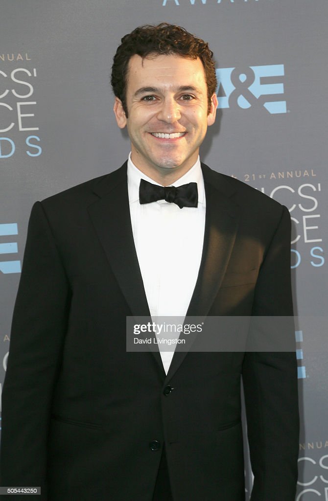 Actor/director Fred Savage attends The 21st Annual Critics' Choice Awards at Barker Hangar on January 17 2016 in Santa Monica California