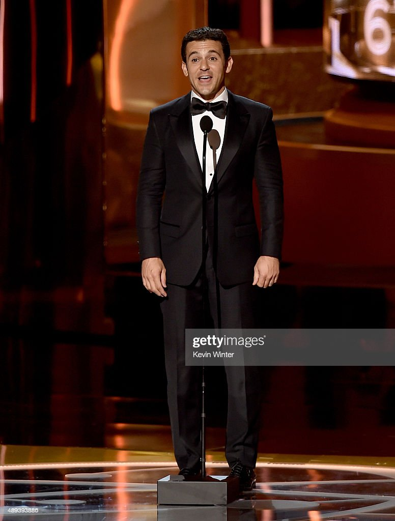 Actor/director Fred Savage speaks onstage during the 67th Annual Primetime Emmy Awards at Microsoft Theater on September 20 2015 in Los Angeles...