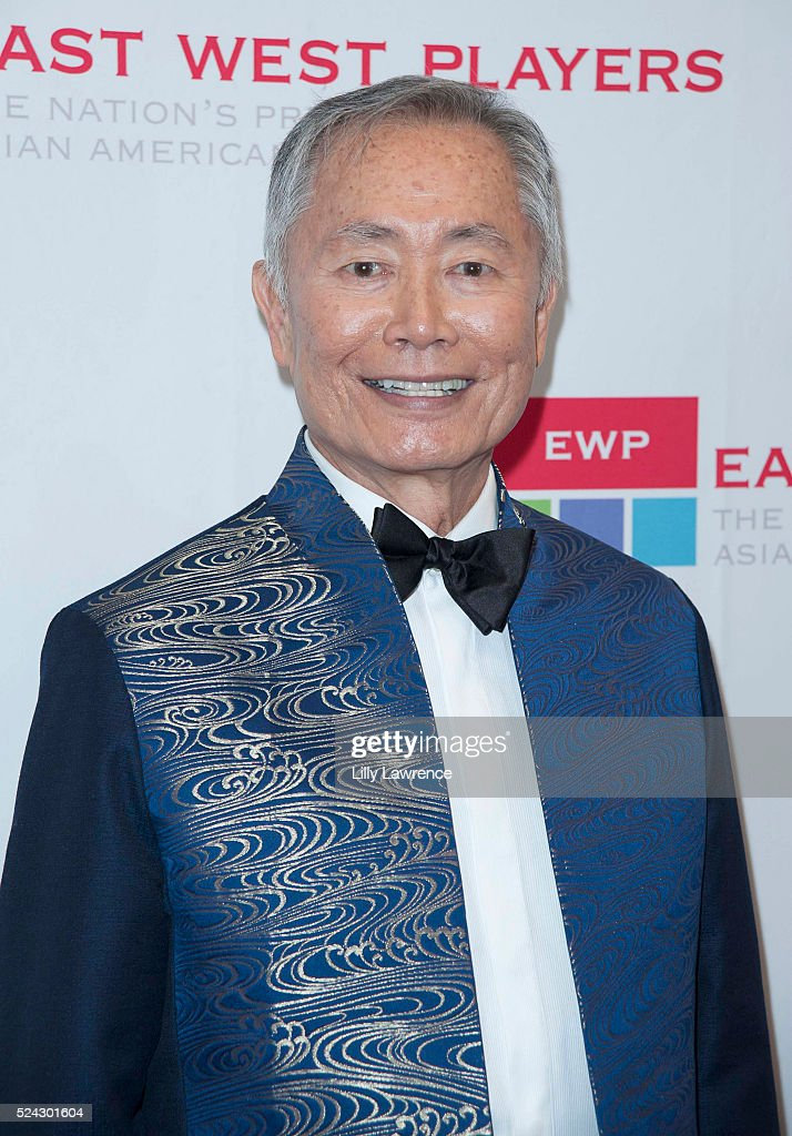 Actor/director <a gi-track='captionPersonalityLinkClicked' href=/galleries/search?phrase=George+Takei&family=editorial&specificpeople=1534988 ng-click='$event.stopPropagation()'>George Takei</a> attends the East West Players 50th Anniversary Visionary Awards Dinner and Silent Auction at the Hilton Universal City on April 25, 2016 in Universal City, California.