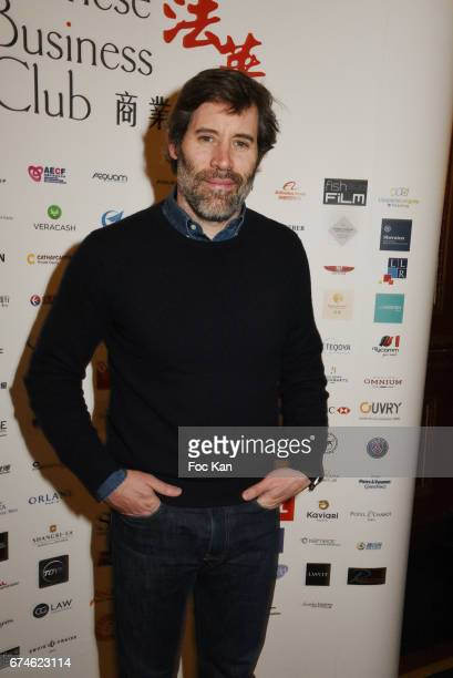 Actor/director Jalil Lespert attends Chinese Business Club Lunch at Hotel Intercontinental on April 28 2017 in Paris France