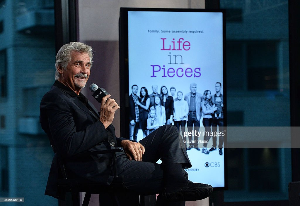 Actor/director <a gi-track='captionPersonalityLinkClicked' href=/galleries/search?phrase=James+Brolin&family=editorial&specificpeople=213029 ng-click='$event.stopPropagation()'>James Brolin</a> visits AOL BUILD to discuss the upcoming season of 'Life In Pieces' at AOL Studios In New York on November 3, 2015 in New York City.