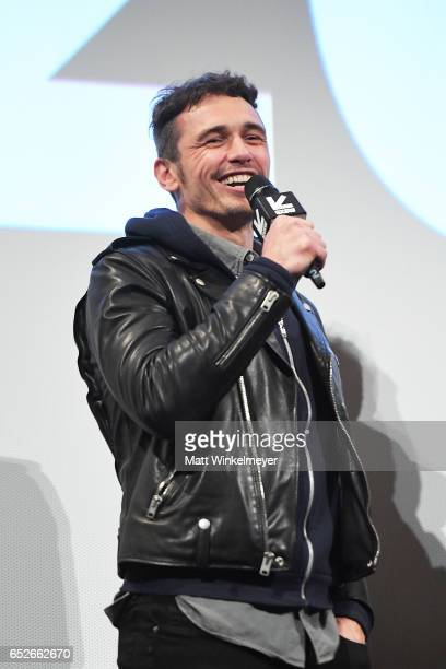 Actor/director James Franco attends the 'The Disaster Artist' premiere 2017 SXSW Conference and Festivals on March 12 2017 in Austin Texas