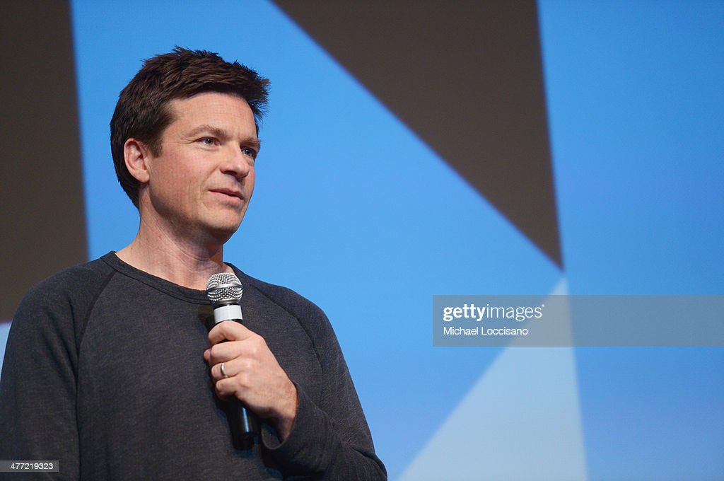 Actor/director <a gi-track='captionPersonalityLinkClicked' href=/galleries/search?phrase=Jason+Bateman&family=editorial&specificpeople=204774 ng-click='$event.stopPropagation()'>Jason Bateman</a> takes part in a Q&A following the 'Bad Words' Premiere during the 2014 SXSW Music, Film + Interactive Festival at Topfer Theatre at ZACH on March 7, 2014 in Austin, Texas.