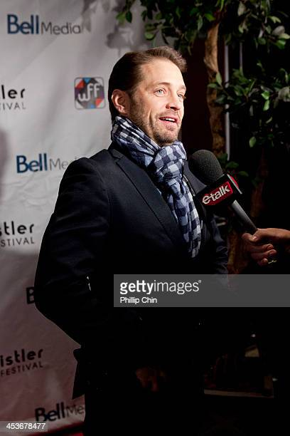 Actor/director Jason Priestley arrives at the screening of 'Cas Dylan' during the 13th Annual Whistler Film Festival on December 4 2013 in Whistler...