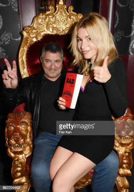 Actor/director Jean Marie Bigard and his wife actress Lola Marois attend the 'Souffle de Violette' Auction Party As part of 'Octobre Rose' Hosted by...
