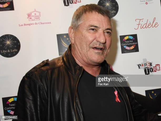 Actor/director Jean Marie Bigard attends the 'Souffle de Violette' Auction Party As part of 'Octobre Rose' Hosted by Ereel at Fidele Club on October...