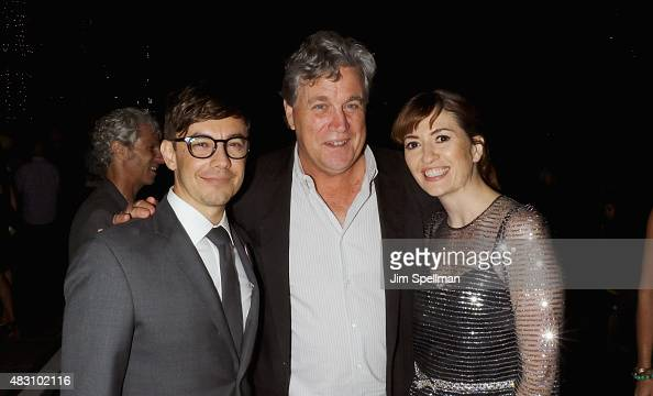 Actor/director Jorma Taccone copresident and cofounder of Sony Pictures Classics Tom Bernard and director Marielle Heller attend the after party for...