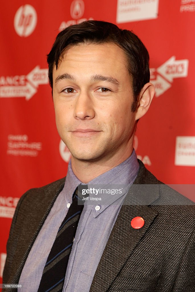 Actor/director Joseph Gordon-Levitt attends 'Don Jon's Addiction' Premiere during the 2013 Sundance Film Festival at Eccles Center Theatre on January 18, 2013 in Park City, Utah.