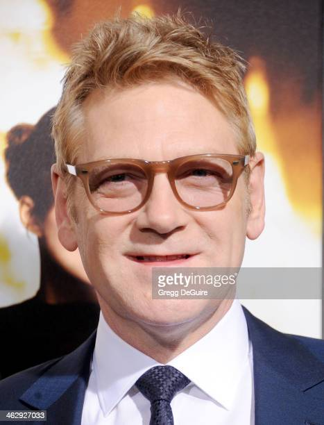 Actor/director Kenneth Branagh arrives at the Los Angeles premiere of 'Jack Ryan Shadow Recruit' at TCL Chinese Theatre on January 15 2014 in...