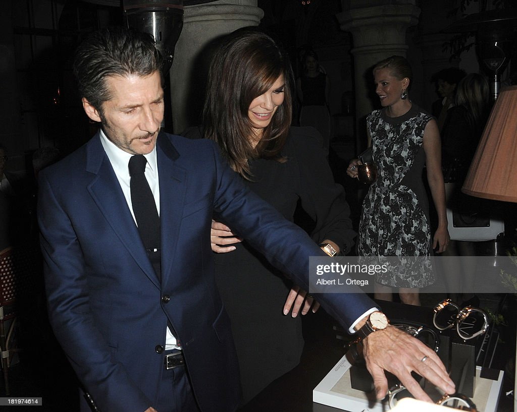 Actor/director Leland Orser and actress Jeanne Tripplehorn attend C Magazine Dinner And Reception Celebrating Leland Orser's 'Morning' held at Chateau Marmont on September 26, 2013 in West Hollywood, California.