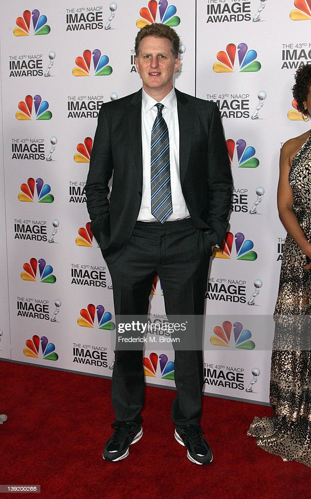 Actor/director Michael Rapaport arrives at the 43rd NAACP Image Awards held at The Shrine Auditorium on February 17, 2012 in Los Angeles, California.