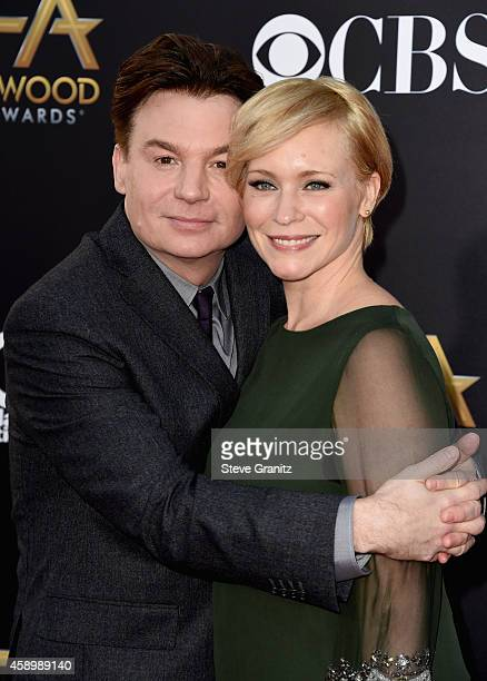 Actor/director Mike Myers and Kelly Tisdale attend the 18th Annual Hollywood Film Awards at The Palladium on November 14 2014 in Hollywood California