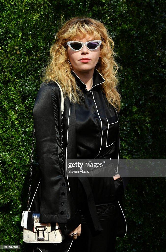 Actor/director Natasha Lyonne attends Through Her Lens: The Tribeca Chanel Women's Filmmaker Program Luncheon at Locanda Verde on October 17, 2017 in New York City.