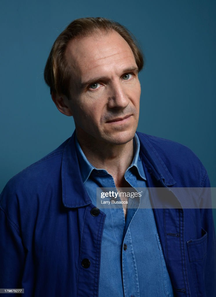 Actor/director Ralph Fiennes of 'The Invisible Woman' poses at the Guess Portrait Studio during 2013 Toronto International Film Festival on September...