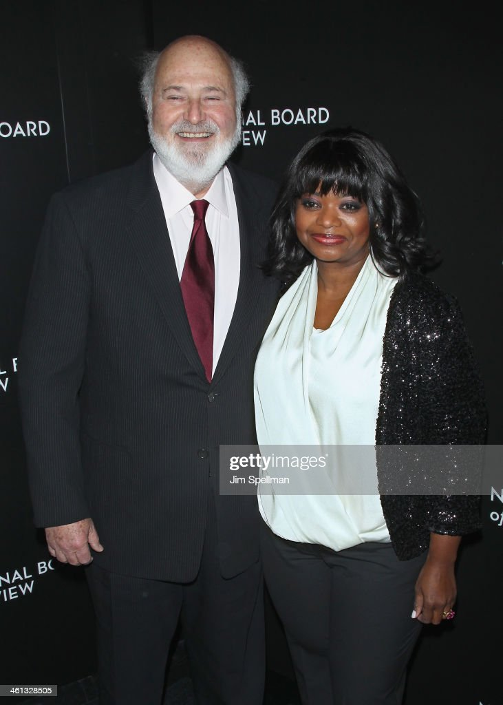 Actor/director Rob Reiner and actress Octavia Spencer attend the 2014 National Board Of Review Awards Gala at Cipriani 42nd Street on January 7 2014...