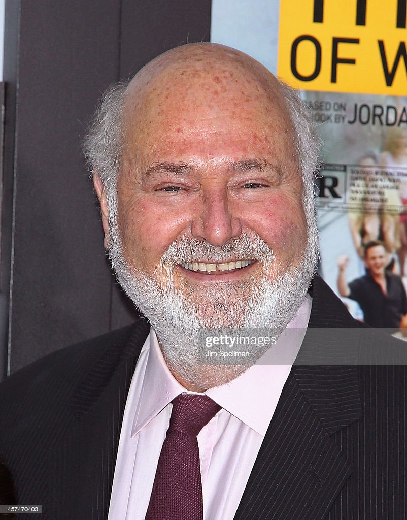 Actor/director <a gi-track='captionPersonalityLinkClicked' href=/galleries/search?phrase=Rob+Reiner&family=editorial&specificpeople=208749 ng-click='$event.stopPropagation()'>Rob Reiner</a> attends the 'The Wolf Of Wall Street' premiere at Ziegfeld Theater on December 17, 2013 in New York City.