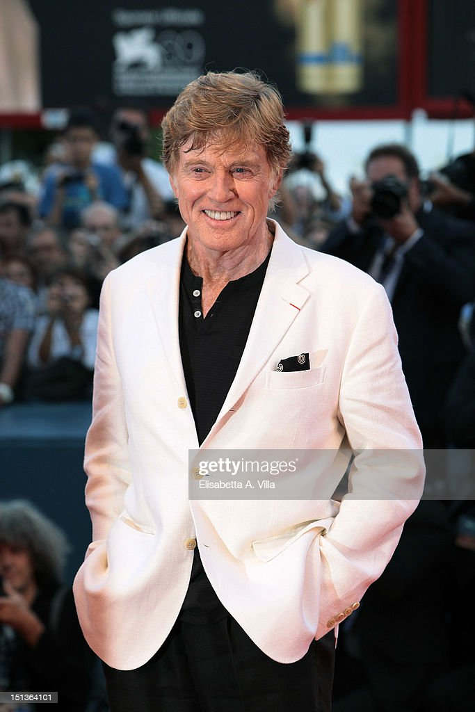 Actor/Director Robert Redford attends 'The Company You Keep' Premiere at the 69th Venice Film Festival at the Palazzo del Cinema on September 6 2012...