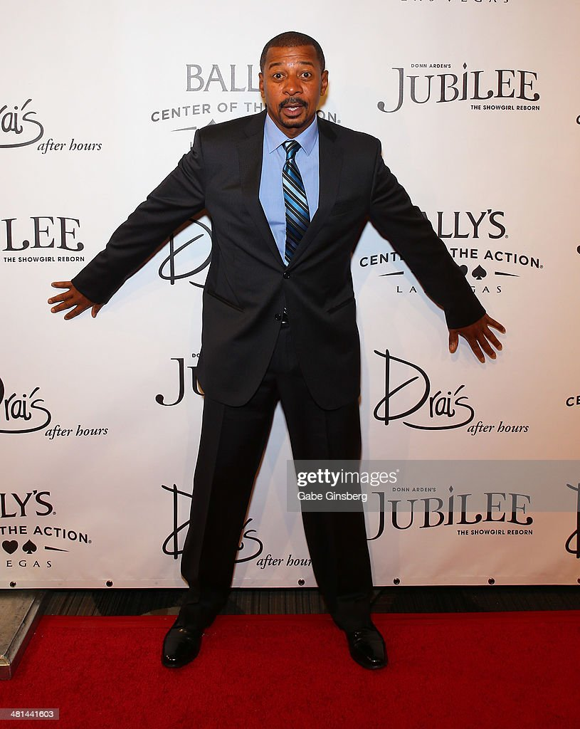 Actor/director <a gi-track='captionPersonalityLinkClicked' href=/galleries/search?phrase=Robert+Townsend+-+Actor&family=editorial&specificpeople=224619 ng-click='$event.stopPropagation()'>Robert Townsend</a> arrives at the 'Jubilee' show's grand re-opening at Bally's Las Vegas on March 29, 2014 in Las Vegas, Nevada.