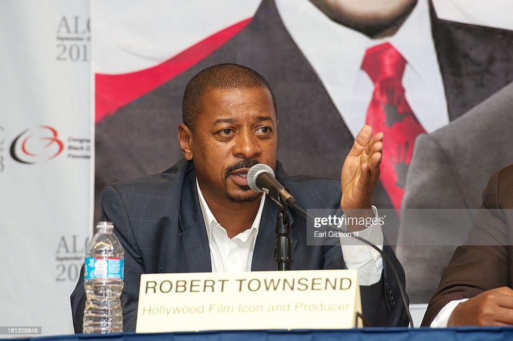 Actor/Director <a gi-track='captionPersonalityLinkClicked' href=/galleries/search?phrase=Robert+Townsend+-+Actor&family=editorial&specificpeople=224619 ng-click='$event.stopPropagation()'>Robert Townsend</a> serves as a panelist on a session entitled 'The High School Class of 2014: Saving Our Sons Engaging, Educating and Equipping Our Young Men For Success' on Day 3 of the 43rd Annual Legislative Conference on September 20, 2013 in Washington, DC.