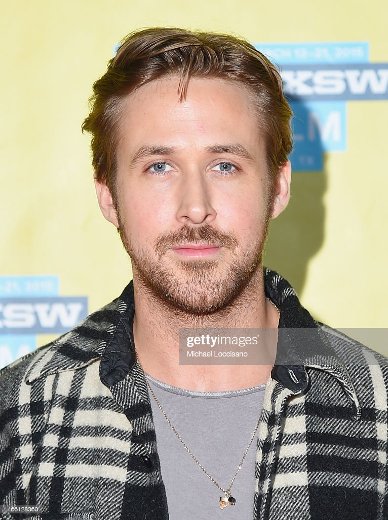 Actor/director Ryan Gosling attends 'A Conversation With Ryan Gosling' during 2015 SXSW Music Film Interactive Festival at Austin Convention Center...