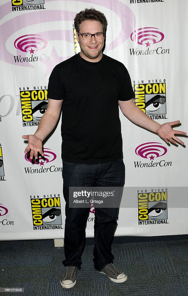 Actor/director Seth Rogen participates at WonderCon Anaheim 2013 - Day 2 at Anaheim Convention Center on March 30, 2013 in Anaheim, California.