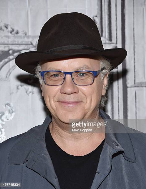 Actor/director Tim Robbins discusses his new series 'The Brink' at the AOL BUILD Speaker Series at AOL Studios In New York on June 11 2015 in New...