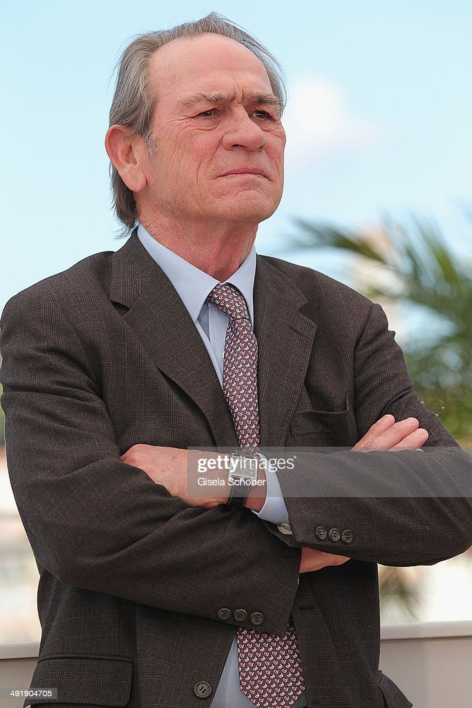 Actor/director <a gi-track='captionPersonalityLinkClicked' href=/galleries/search?phrase=Tommy+Lee+Jones&family=editorial&specificpeople=204174 ng-click='$event.stopPropagation()'>Tommy Lee Jones</a> attends 'The Homesman' photocall during the 67th Annual Cannes Film Festival on May 18, 2014 in Cannes, France.