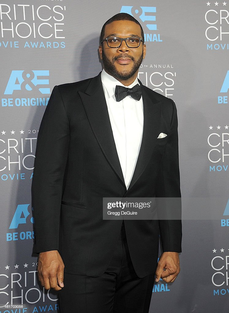 Actor/director Tyler Perry arrives at the 20th Annual Critics' Choice Movie Awards at Hollywood Palladium on January 15 2015 in Los Angeles California