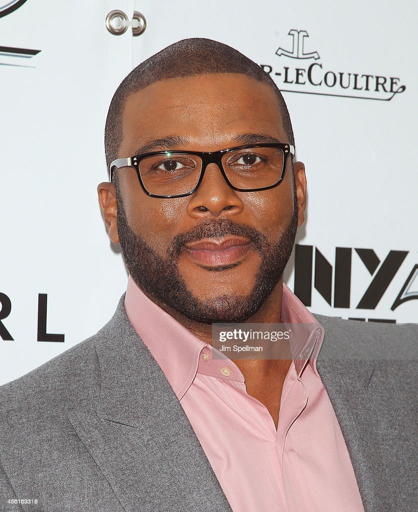 Actor/director Tyler Perry attends the 52nd New York Film Festival Opening Night Gala Presentation and World Premiere Of 'Gone Girl' at Alice Tully...