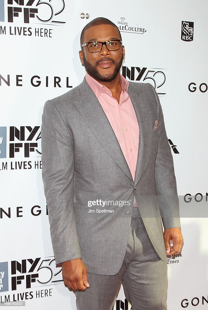 Actor/director Tyler Perry attends the 52nd New York Film Festival Opening Night Gala Presentation and World Premiere Of 'Gone Girl' at Alice Tully Hall on September 26, 2014 in New York City.