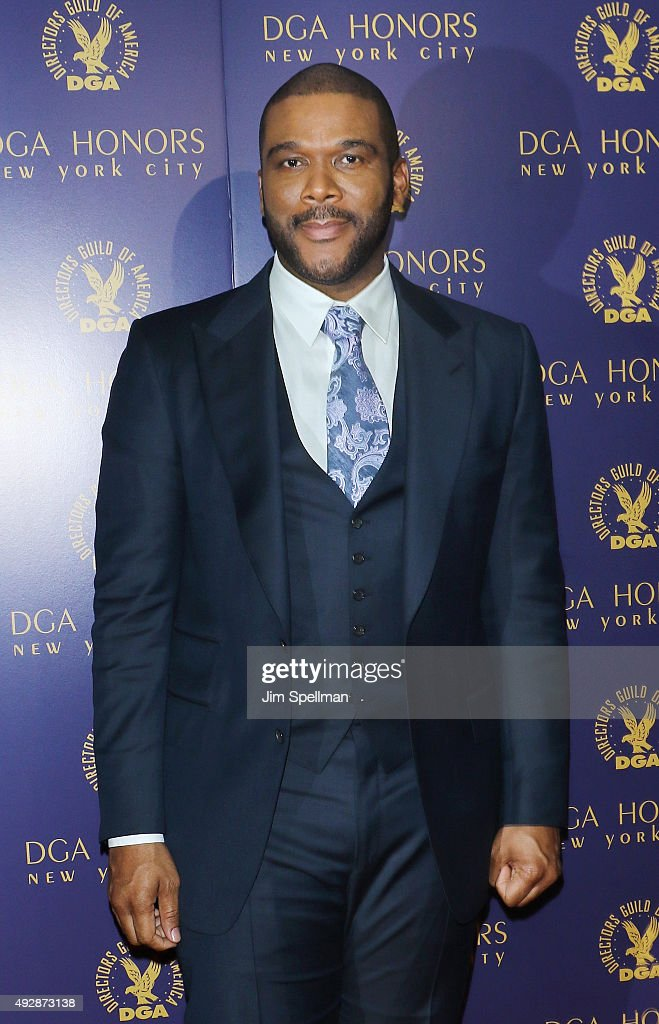 Actor/director Tyler Perry attends the DGA Honors Gala 2015 at the DGA Theater on October 15, 2015 in New York City.