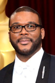 Actor/director Tyler Perry attends the Oscars held at Hollywood Highland Center on March 2 2014 in Hollywood California