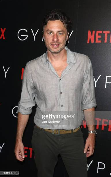 Actor/director Zach Braff attends the special screening of 'Gypsy' hosted by Netflix at Public Arts at Public on June 29 2017 in New York City