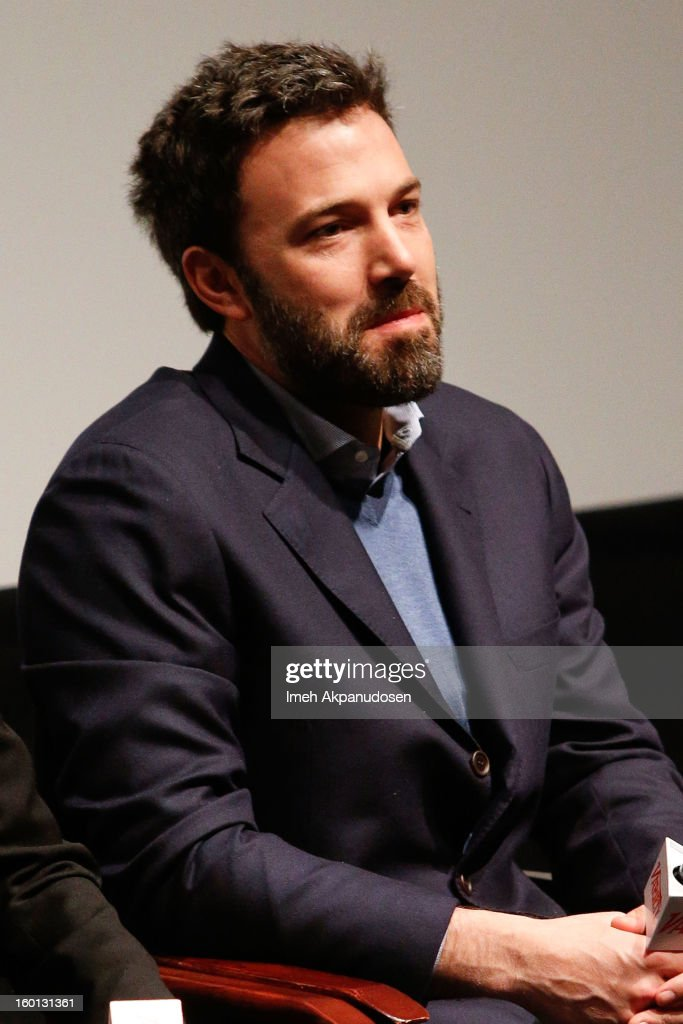 Actor/director/producer <a gi-track='captionPersonalityLinkClicked' href=/galleries/search?phrase=Ben+Affleck&family=editorial&specificpeople=201856 ng-click='$event.stopPropagation()'>Ben Affleck</a> attends the Producers Guild Awards Nominees Breakfast at the Landmark Theater on January 26, 2013 in Los Angeles, California.