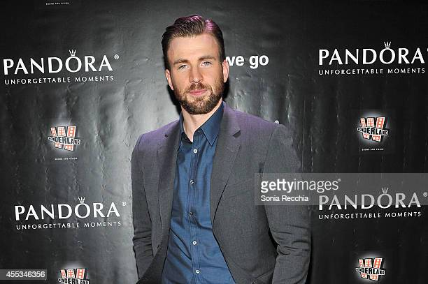 Actor/Director/Producer Chris Evans attends the'Before We Go' cocktail reception with Chris Evans presented by PANDORA Jewelry held at West Bar on...