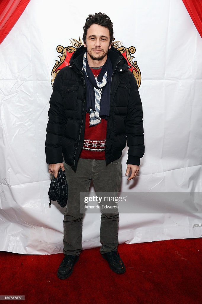 Actor/Director/Writer <a gi-track='captionPersonalityLinkClicked' href=/galleries/search?phrase=James+Franco&family=editorial&specificpeople=577480 ng-click='$event.stopPropagation()'>James Franco</a> attends the Rabbit Bandini Production Company Cocktail Party at Stella Lounge at The Lift during the 2013 Sundance Film Festival on January 19, 2013 in Park City, Utah.