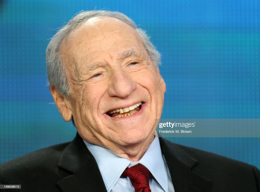Actor/Director/Writer <a gi-track='captionPersonalityLinkClicked' href=/galleries/search?phrase=Mel+Brooks&family=editorial&specificpeople=208129 ng-click='$event.stopPropagation()'>Mel Brooks</a> speaks onstage during the PBS panel for 'AMERICAN MASTERS '<a gi-track='captionPersonalityLinkClicked' href=/galleries/search?phrase=Mel+Brooks&family=editorial&specificpeople=208129 ng-click='$event.stopPropagation()'>Mel Brooks</a>: Make a Noise' ' of the 2013 Winter Television Critics Association Press Tour at the Langham Huntington Hotel & Spa on January 14, 2013 in Pasadena, California.