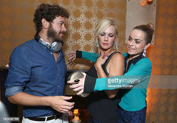 Actor/DJ Danny Masterson and actors Jennie Garth and Taryn Manning attend People StyleWatch Hollywood Denim Party at Palihouse on September 20 2012...