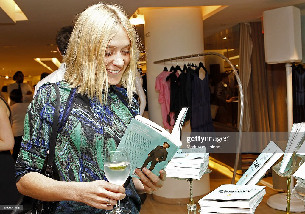 Actoress Chloe Sevigny attends the book party for Derek Blasberg's Classy at Barneys New York on April 6, 2010 in New York City.