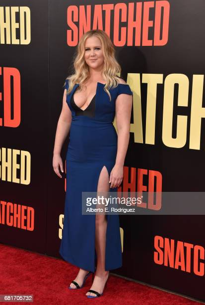 Actor/executive producer Amy Schumer attends the premiere of 20th Century Fox's 'Snatched' at Regency Village Theatre on May 10 2017 in Westwood...