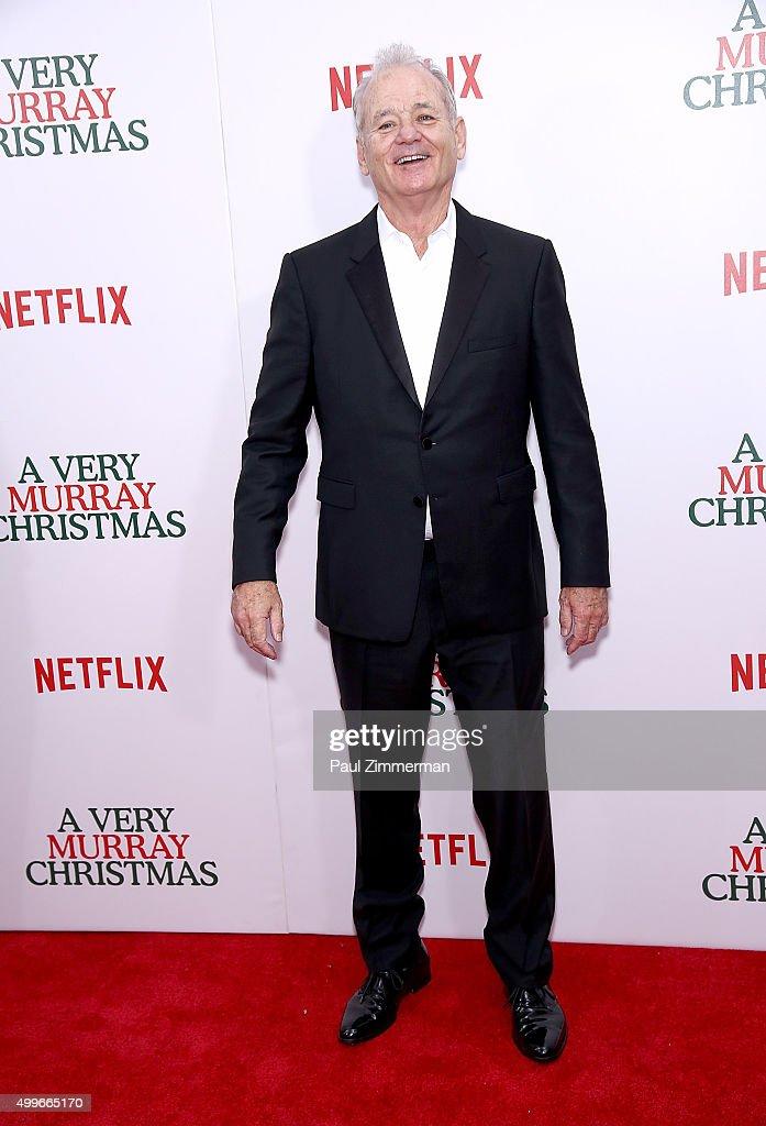 """A Very Murray Christmas"" New York Premiere"